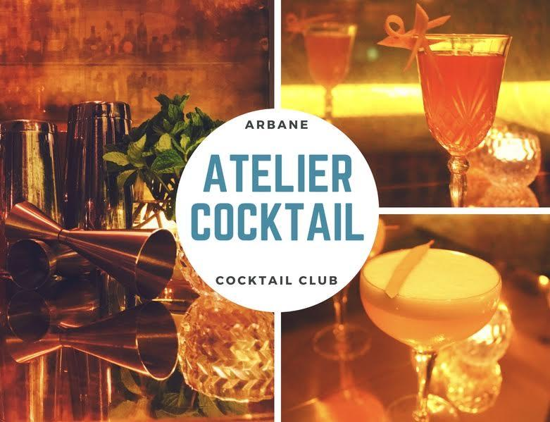 Atelier cocktail Paris